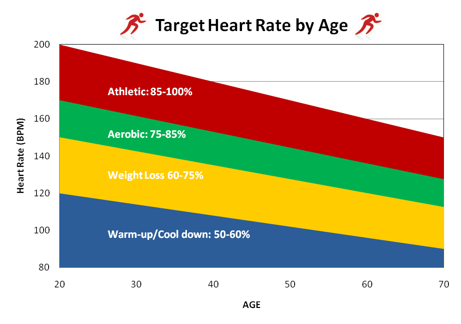 Exercise And Target Heart Rate Marcus Tams Fitness