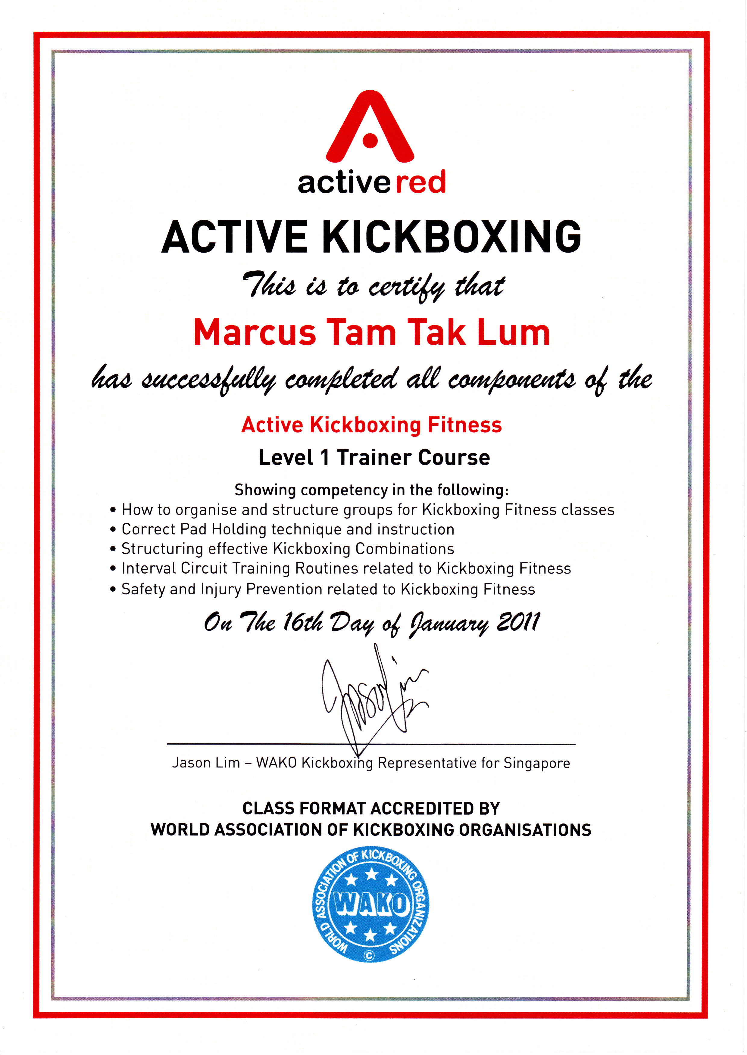 The Trainer Marcus Tams Fitness