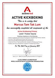 kickboxing marcus tam