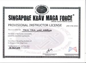 Krav Maga Instructor 2015