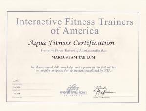 IFTA Aqua Fitness Marcus Tam 2018